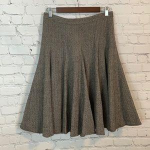 VTG Banana Republic Wool Skirt Size 0